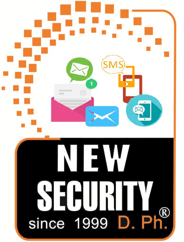 New Security Ο πελάτης ενημερώνεται την ίδια στιγμή με το ΚΛΣ για την όπλιση, αφόπλιση, και για όποια σήματα επιθυμεί στο τηλέφωνο του όλο το 24ωρο.